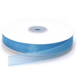 Ruban Organza Turquoise 15 mm