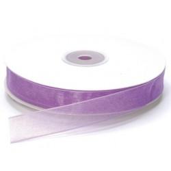 Ruban Organza, Violet, 15 mm