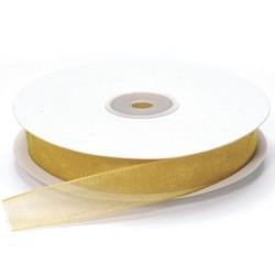 Ruban Organza, Or, 15 mm