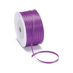 Ruban Satin double face, Violet, 10 mm
