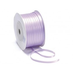 Ruban Satin double face, Lilas, 10 mm