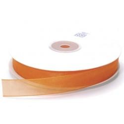 Ruban Organza, Orange, 15 mm