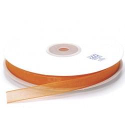 Ruban Organza, Orange, 10 mm