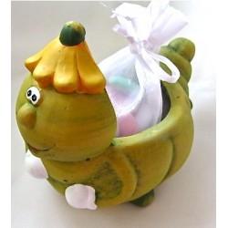 """Pot de fleurs """"Chenille"""""""