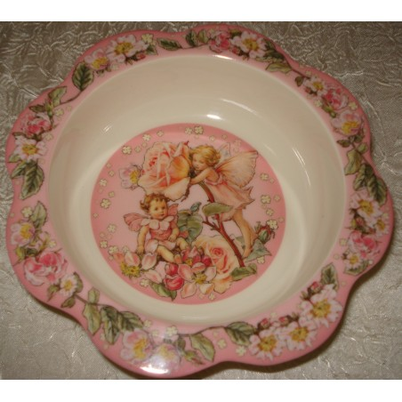 "Assiette creuse ""Flower Fairies"""