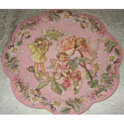 "Assiette plate P.M. ""Flower Fairies"""