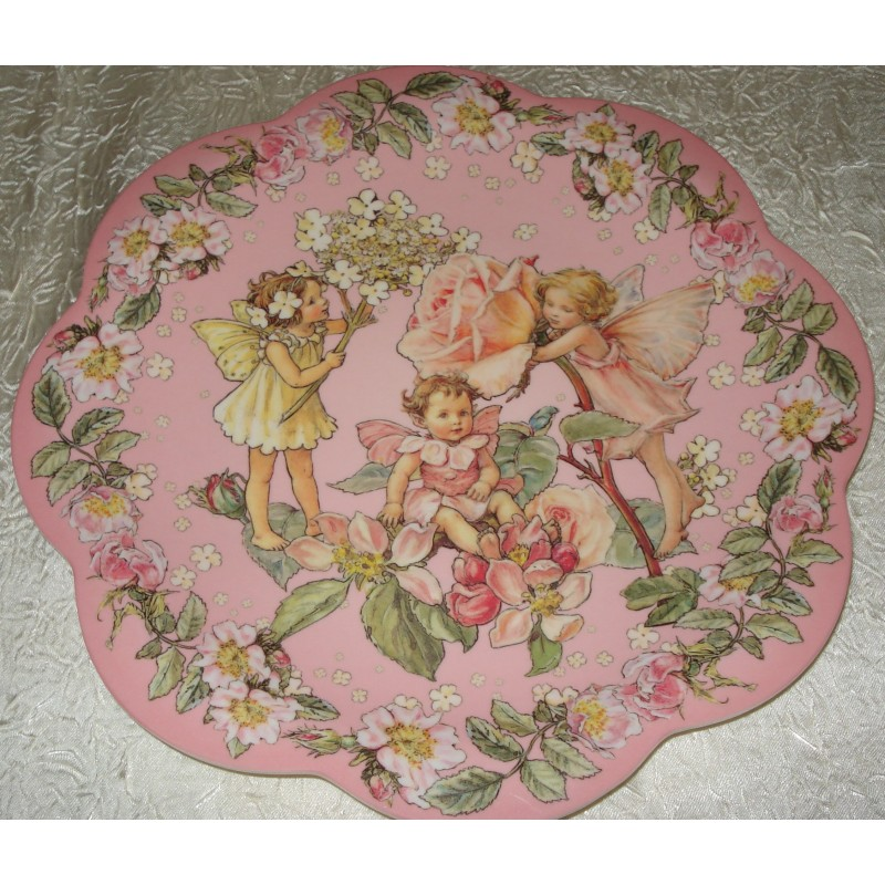 "Assiette plate G.M. ""Flower Fairies"""