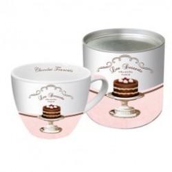 """Big Mug """"Les desserts"""" avec sa boîte"""
