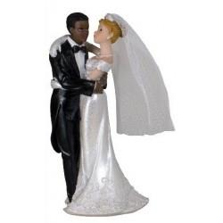 Couple de mariés mixte