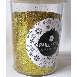 Paillettes Or