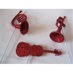 """Pique """"Instruments de musique"""""""