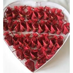 Coeur avec 36 ballotins...