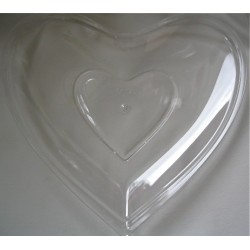 "Coupelle ""Coeur"" en plexi..."