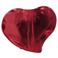 12 Coeurs transparents...