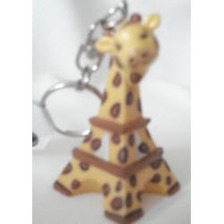 """Porte-clés Tour Eiffel """"Girafe"""""""