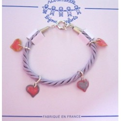 "Bracelet ""Coeurs"""