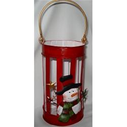 """Lanterne """"Bonhomme de Neige"""""""