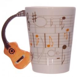 Mug Guitare orange