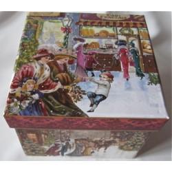 "Boîte à bijoux ""Noël 1900"""
