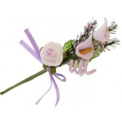 Bouquet de lys et rose