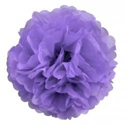 Fleur papier de soie Lilas