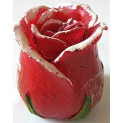 Bougie Bouton de rose Rouge