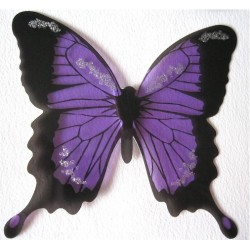 Sticker Papillon 3D  Violet