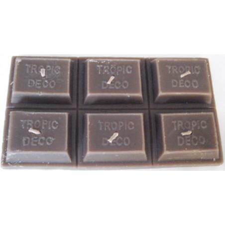 Bougie Tablette de Chocolat Noir