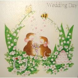"Carte ""Wedding day"""