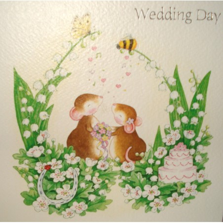 "Carte ""Wedding day"""