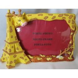 "Cadre Photo ""Tour Eiffel Girafe"""