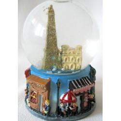 """Boule neigeuse """"Monuments de Paris"""""""