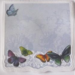 "Bloc mémo ""Papillons"""